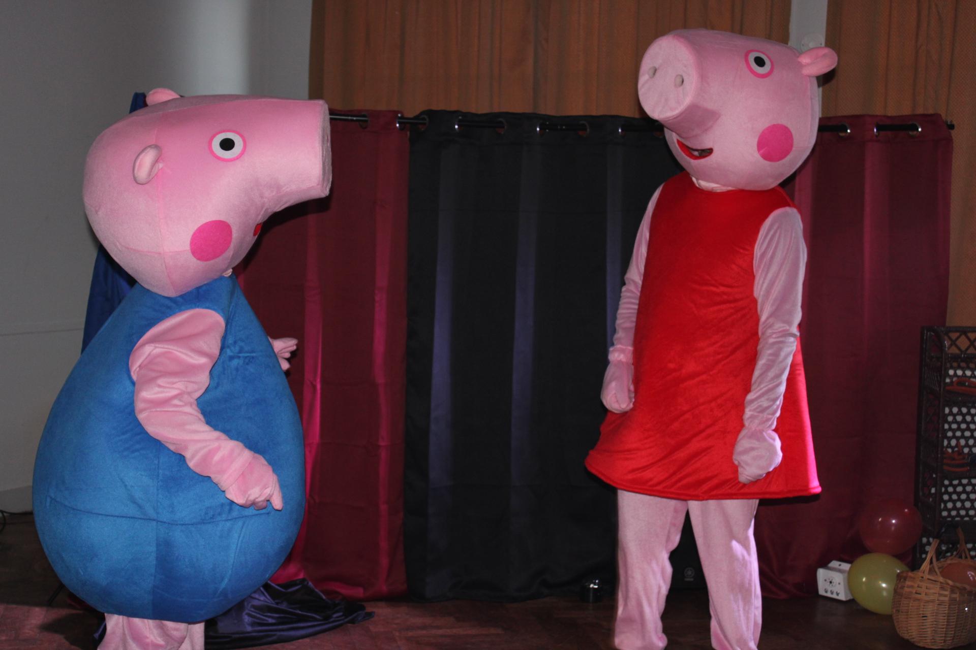 Peppa Pig et Georges