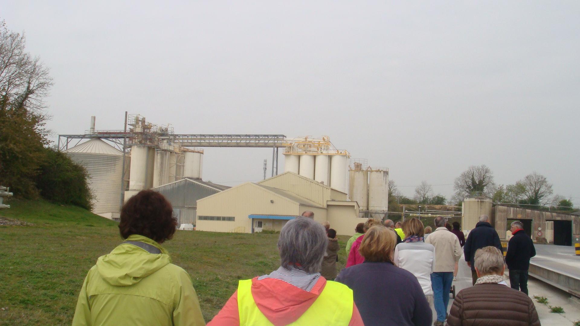 L'usine moderne de Bicarbonate
