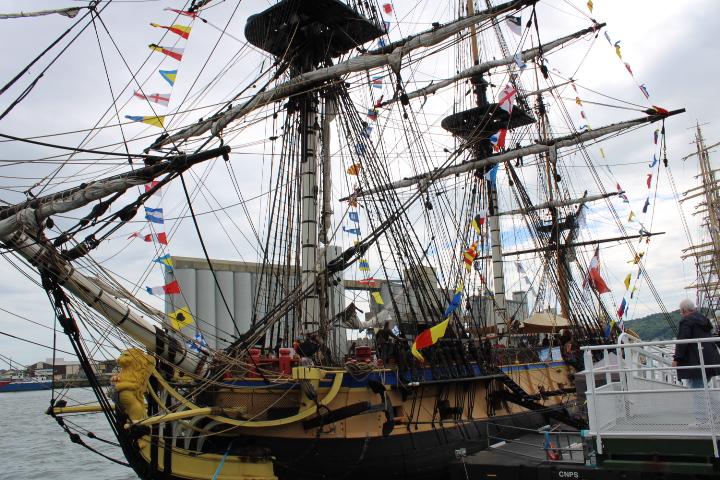 Hermione - Réplique du navire de La Fayette