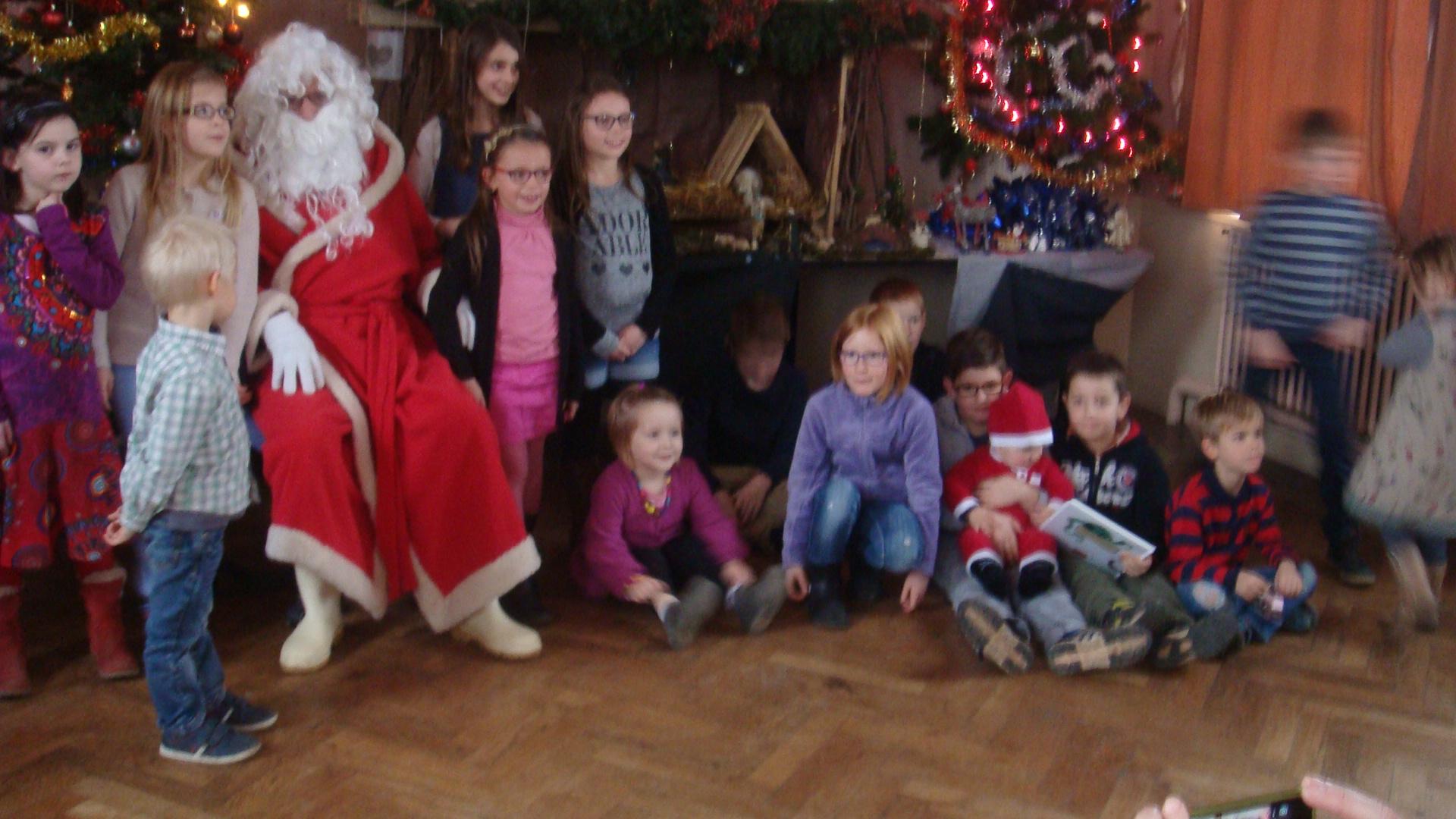 En compagnie du Père Noël
