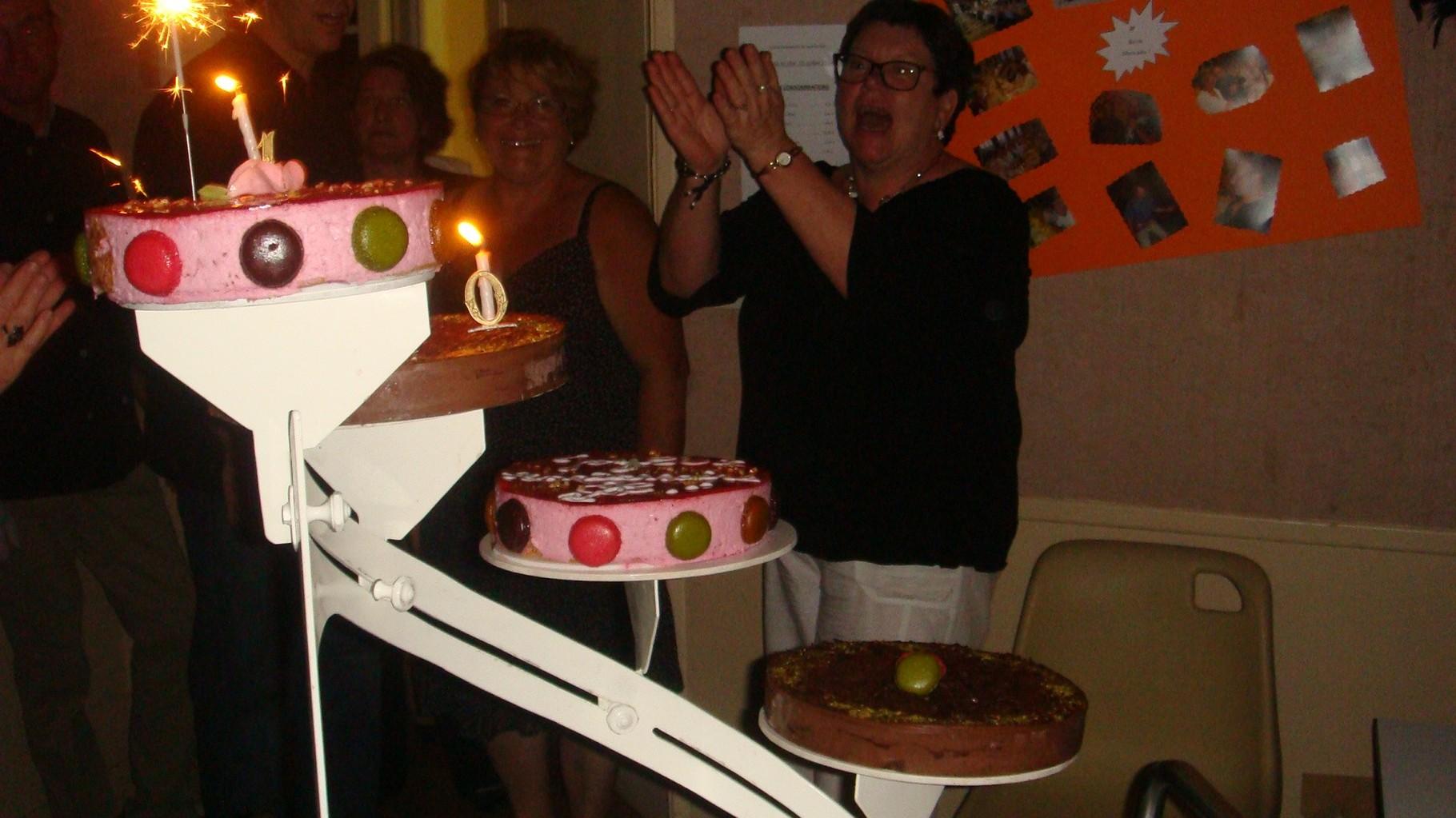 Le gâteau - 10 Ans déja..