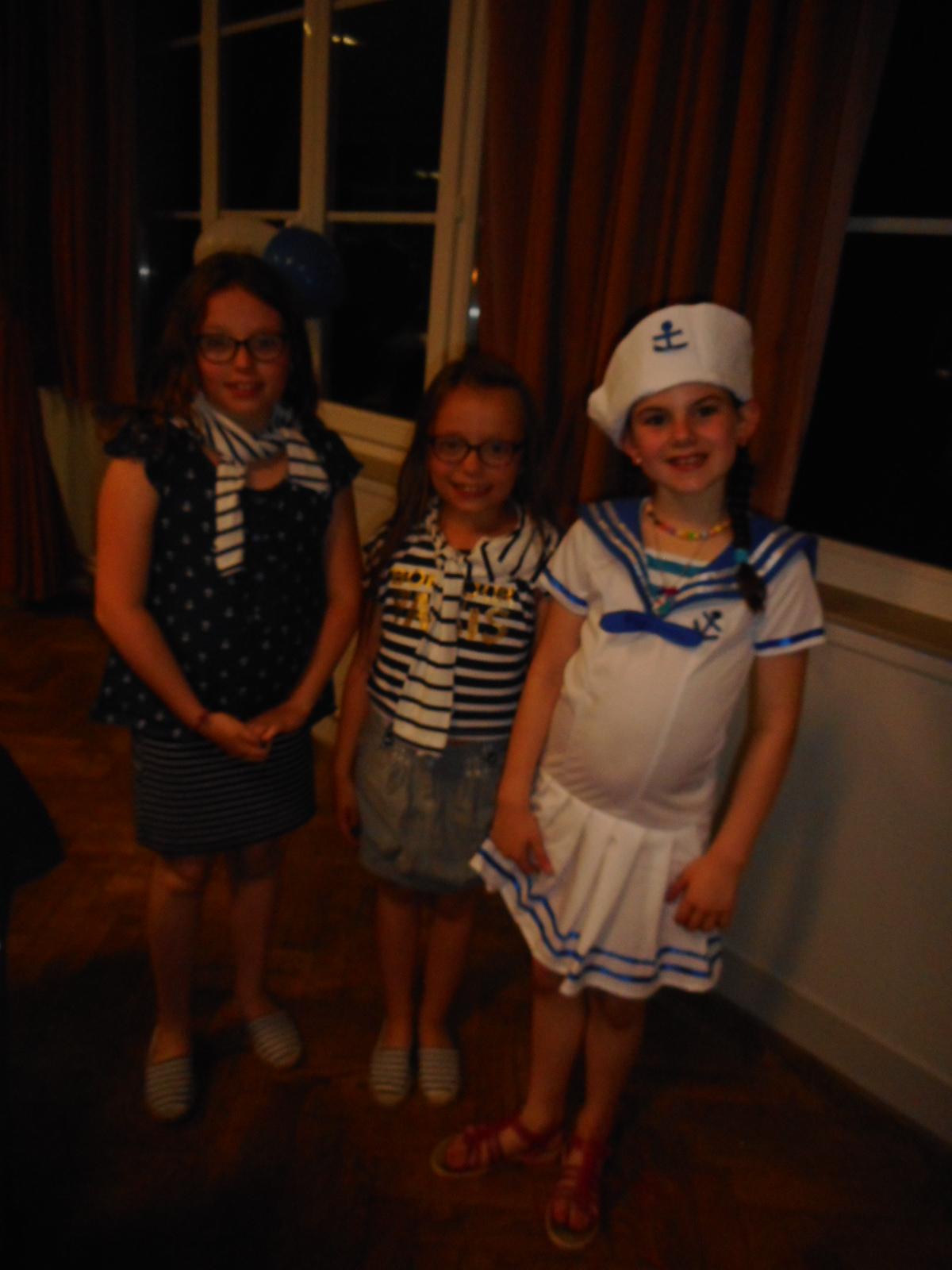 Les 3 gagnantes du concours costumes enfants