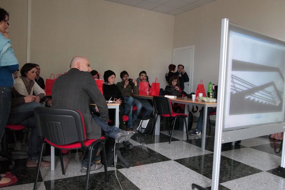 Immagini del workshop di Gerardo Fornataro, 21 aprile 2013