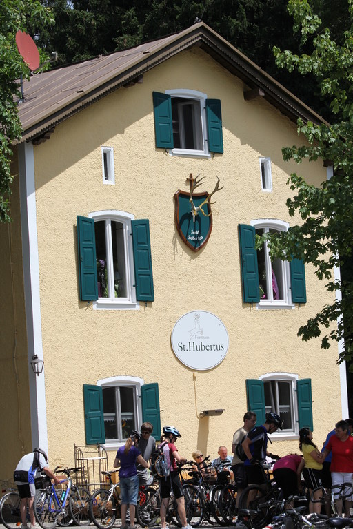 Das Gasthaus St. Hubertus