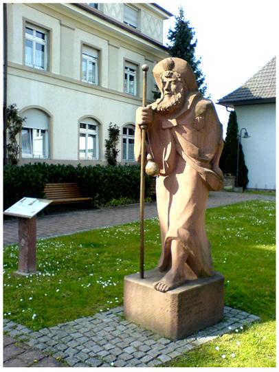 Jakobusstatue in Schutterwald