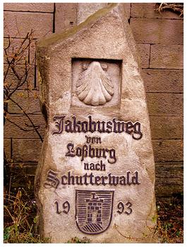 Jakobusstein in Loßburg