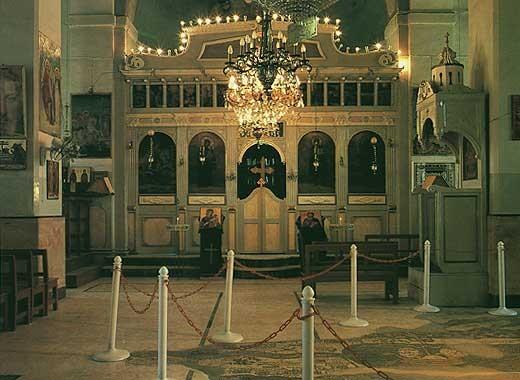 Intérieur Eglise St Georges