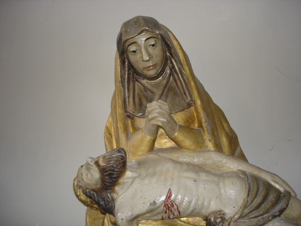 Statue Fin XVe. Classée monument historique