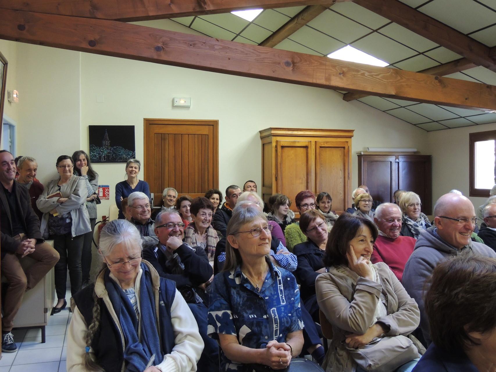 public qui apprécie l'orateur
