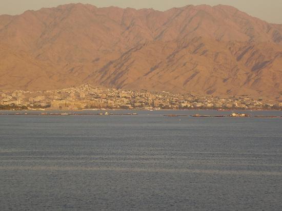 Coucher de soleil sur Aqaba