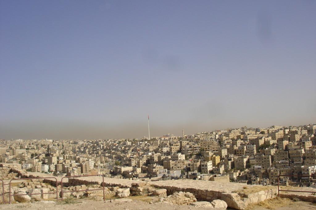 Vue sur Amman depuis la citadelle