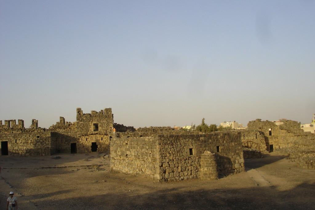 Al Azraq, l'ancienne église bysantine devenue mosquée