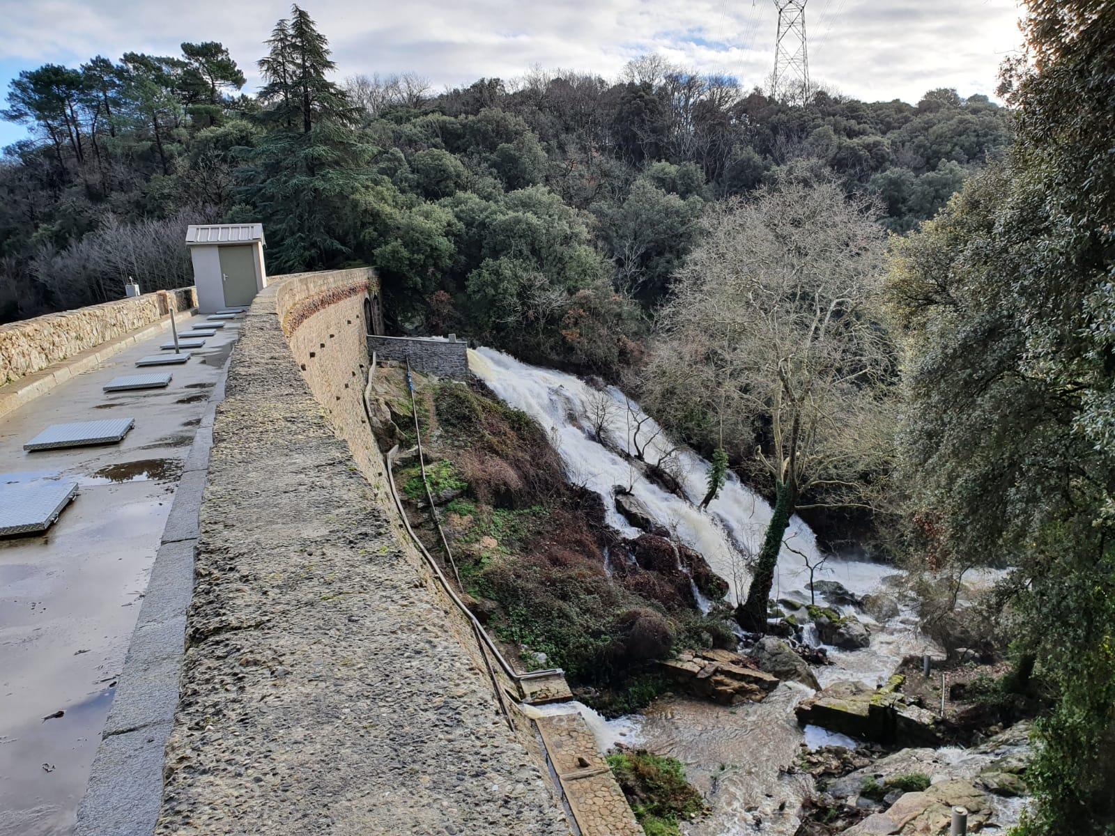 Barrage sur la commune de Cenne-Monastiès