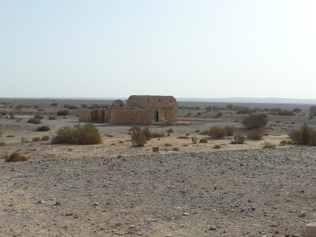 Qasr Amra dans l'aridité