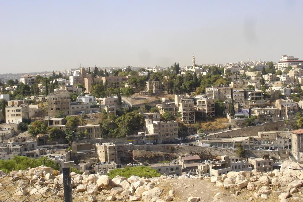 Quartier d'Amman, vu de la citadelle