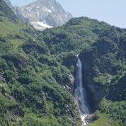 cascade d'Ôo 275m de chute