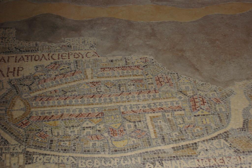 Jérusalem en mosaïque