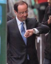 Voilà pourquoi Hollande est toujours en retard...
