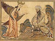 Mohammed recevant la révélation de l'ange Gabriel