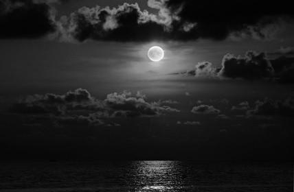 Sous la lune au regard imbécile