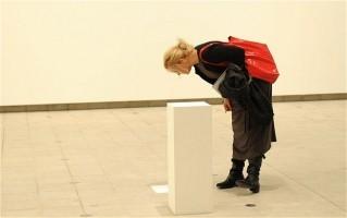 AMATRICE D'ART OU MYOPE CONTEMPLANT UN SOCLE VIDE ? Hayward Gallery de Londres en 2012