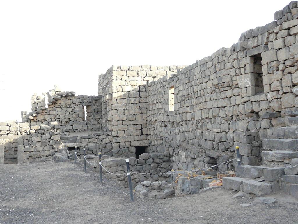 Mur à contre jour