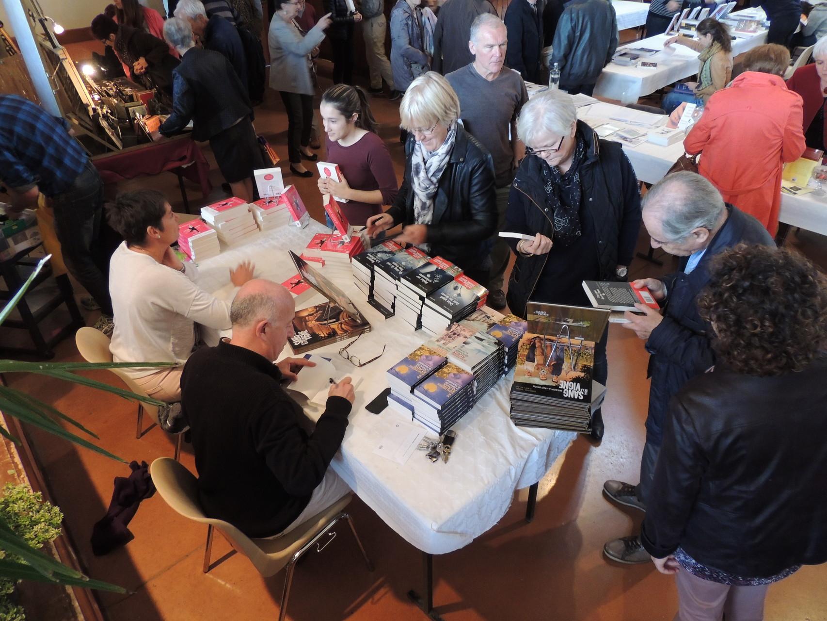 Jean-Pierre Alaux pour la 2ème année à Ciadoux avec ses nouveaux livres