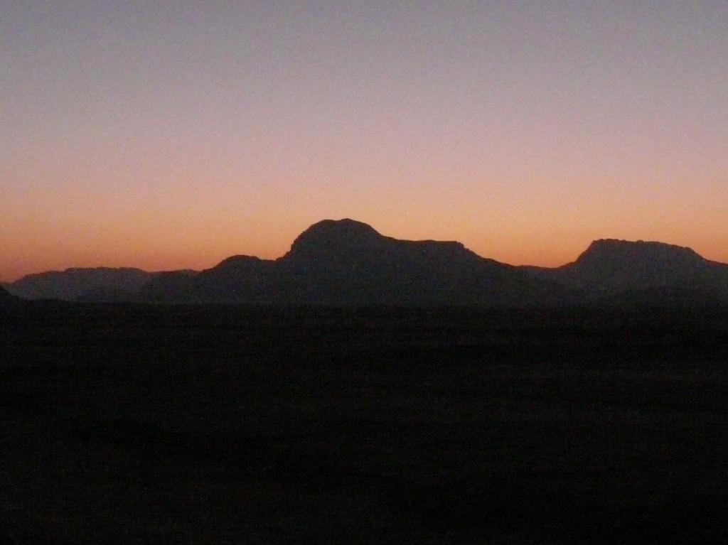 Quelques minutes avant le lever du soleil