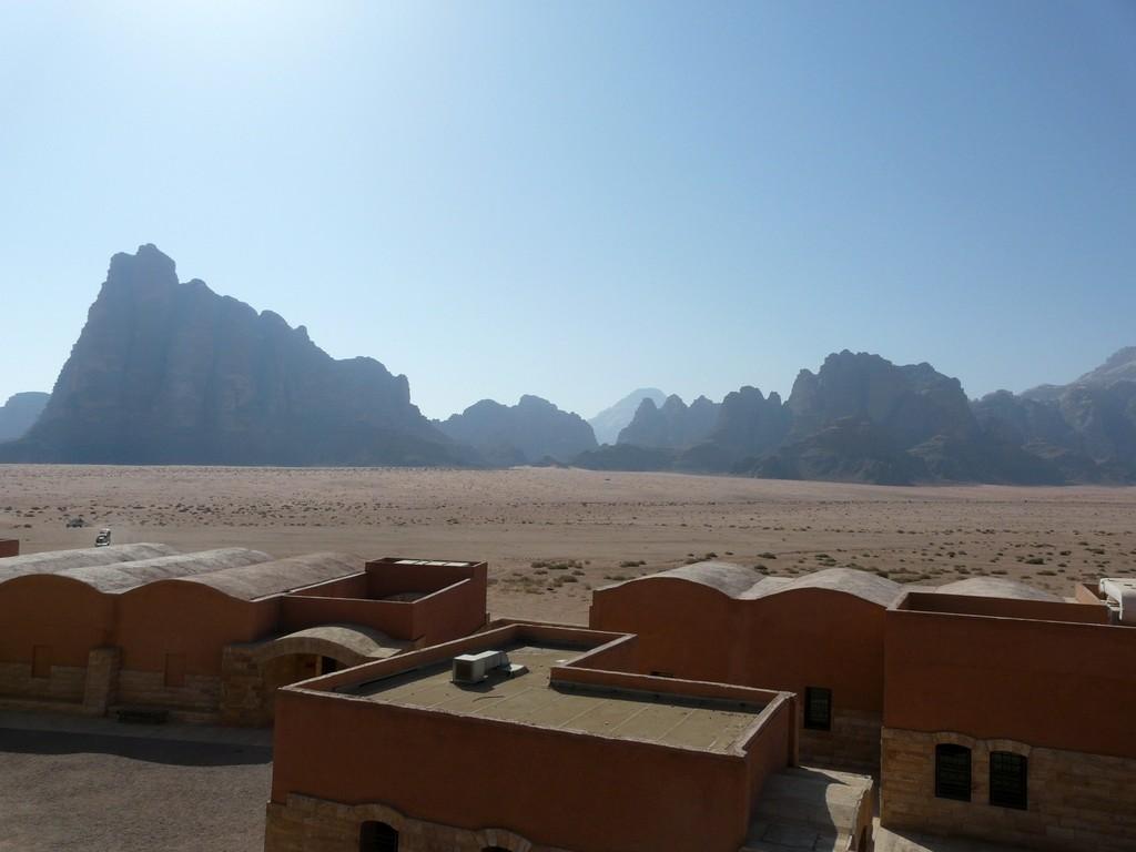 Entrée de la réserve de Wadi rum