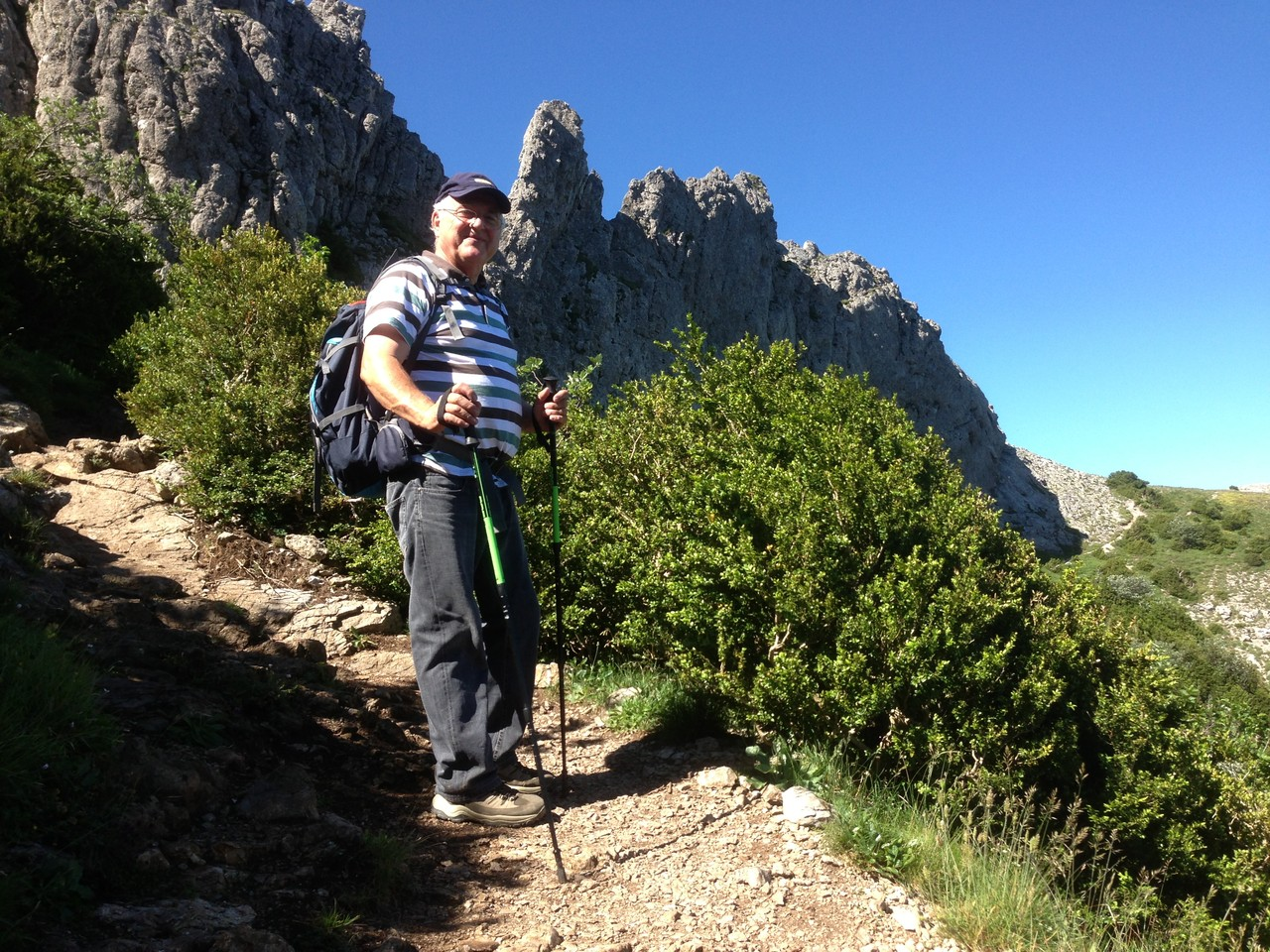 Un Tarnais habitué a grimper les rochers du Sidobre Ph. Cl.Renaudat