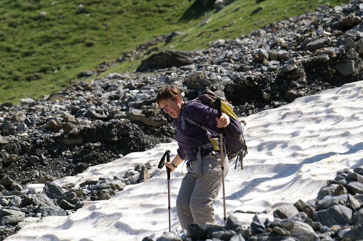 Ski ? Sur la descente périlleuse... Photo Claude Renaudat