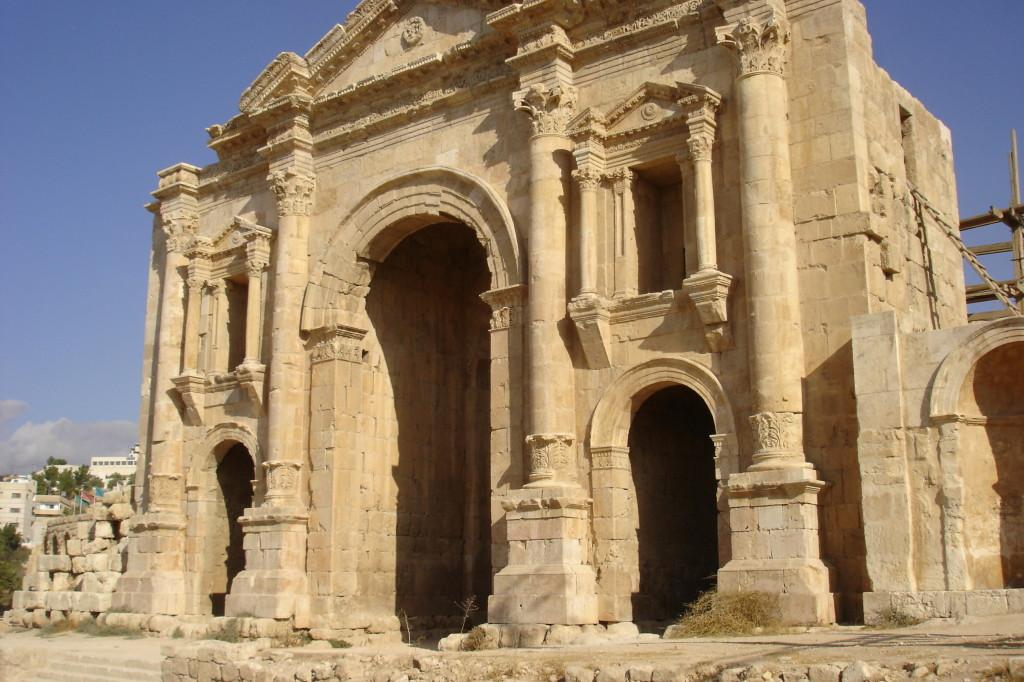 Jérash Arc de Triomphe