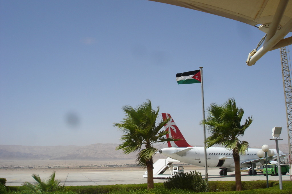 Arrivée aéroport d'Aqaba