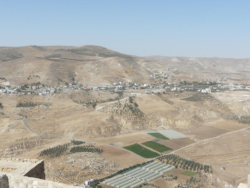 Autre vue depuis Kérak