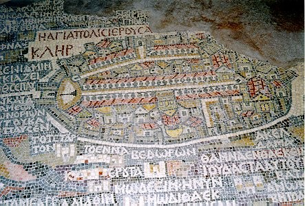 carte en mosaïque
