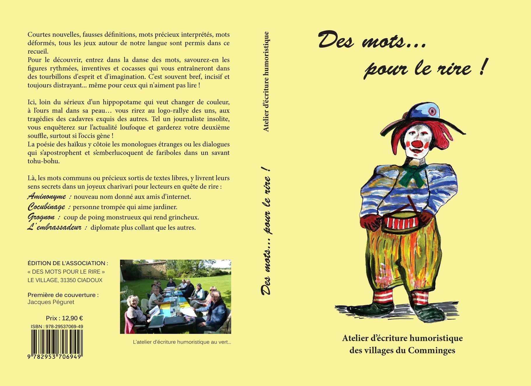 """Berühmt Découvrez le livre """"Des mots pour le rire"""" : par l'atelier d  AB49"""
