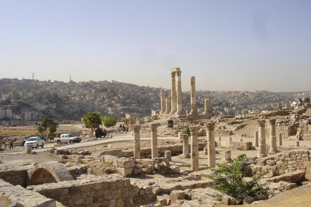 Temple d'Hercule et reste de l'église bysantine