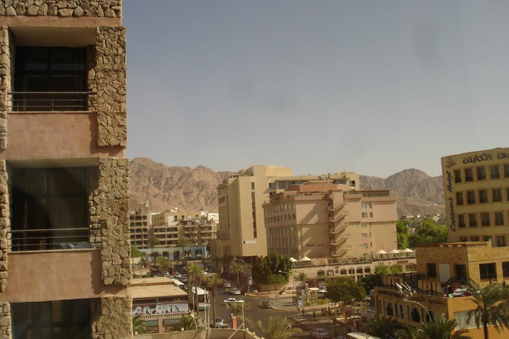 Vue de l'hôtel à Aqaba