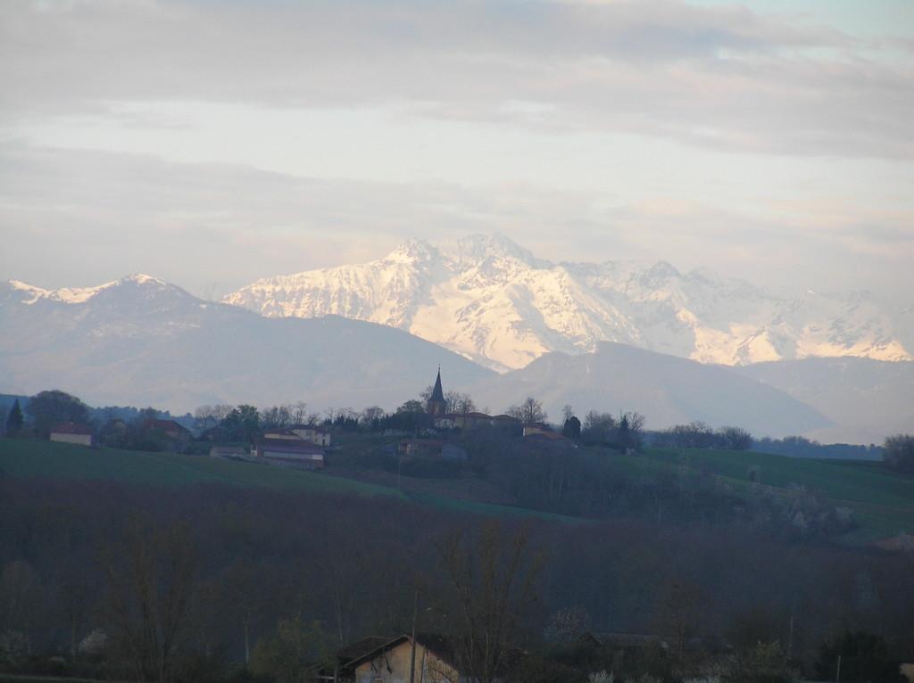 Pic du Midi vu de Ciadoux (un peu zoumé)