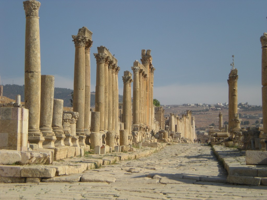 Cardo Maximus à Jérash