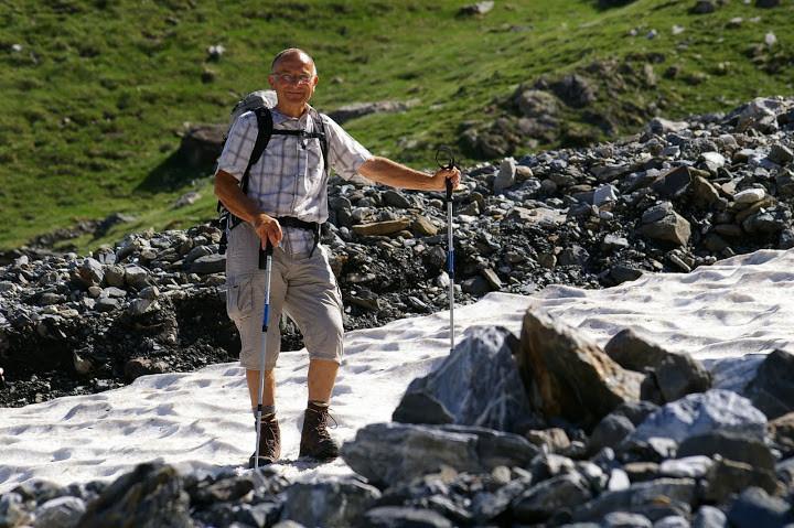 Le pied aguerri du montagnard serein Photo Claude Renaudat