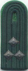 Velddienst, 1980 - 1989, 1e luitenant