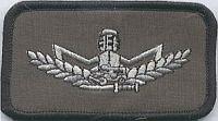Nationale politie, borstembleem, militaire kwalificatie