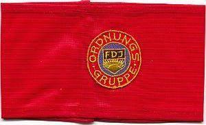 Armband ordetroepen Volkspolitie, 1976 - 1989