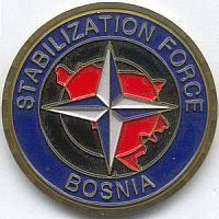 KFOR pin, Stabilisatie Force Bosnië