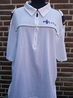 Bikersshirt, wit, korte mouw, regio Brabant