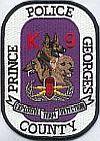 Prince Georges K9