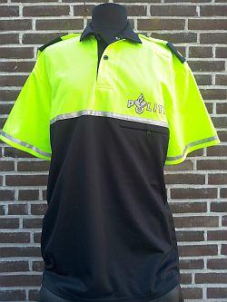 Bikersshirt, korte mouw