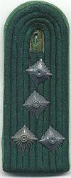 Velddienst, 1980 - 1989, kapitein