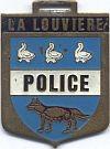 Gemeentepolitie, borsthanger la Louviere